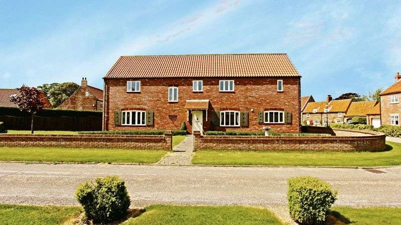5 Bedrooms Detached House for sale in West Cote Farm, Barrow-Upon-Humber