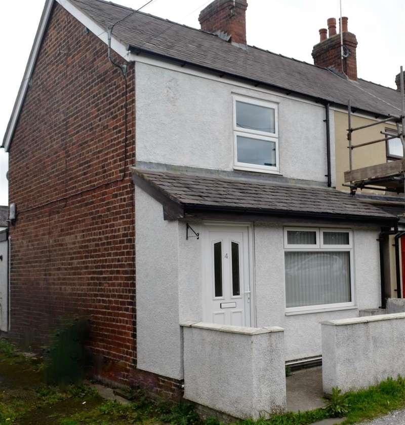 2 Bedrooms End Of Terrace House for sale in Kendrick Terrace, Rhosrobin