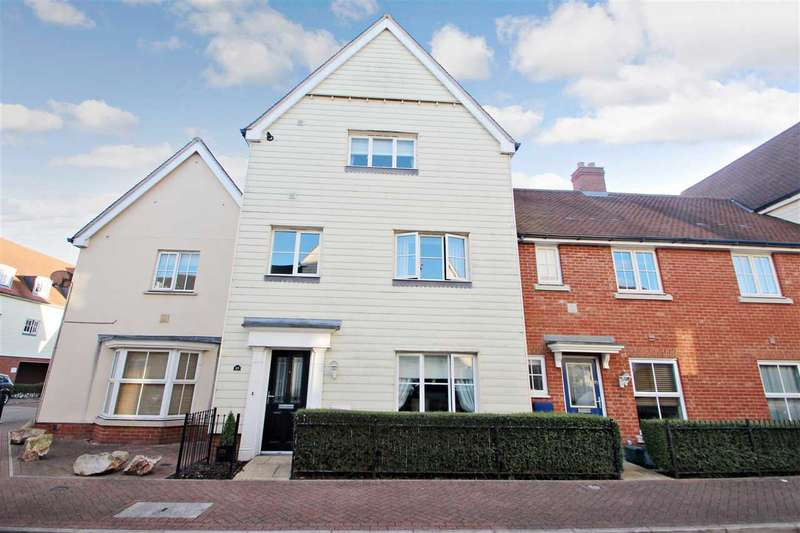 4 Bedrooms Town House for sale in Weetmans Drive, Myland, Colchester