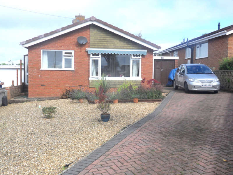 3 Bedrooms Detached Bungalow for sale in Anson Road, Exmouth
