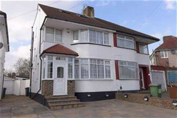 4 Bedrooms Semi Detached House for sale in Felbridge Avenue, Stanmore