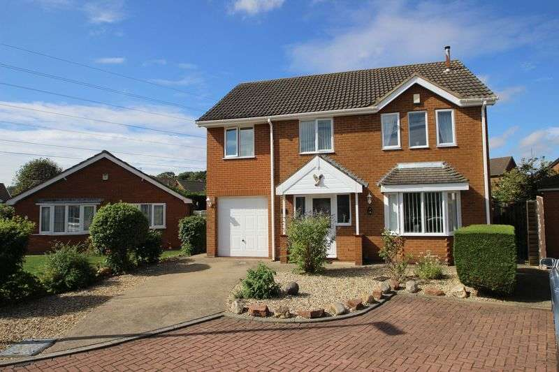 4 Bedrooms Detached House for sale in DEFENDER DRIVE, GRIMSBY