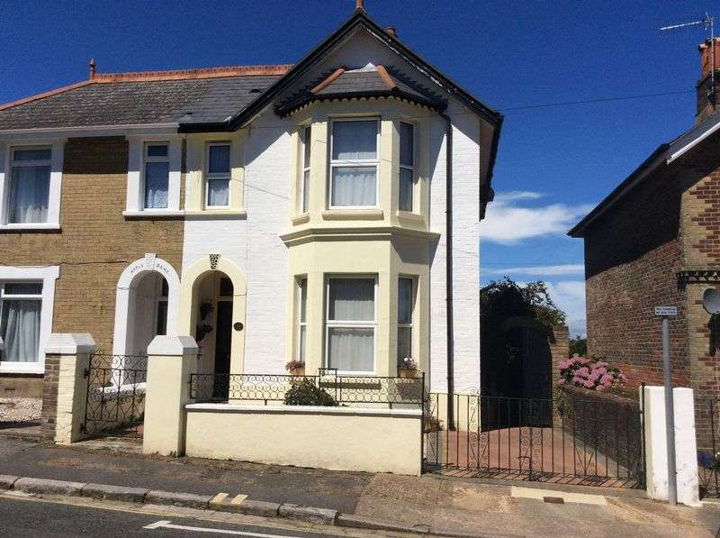 4 Bedrooms Semi Detached House for sale in Hatherton Road, Shanklin