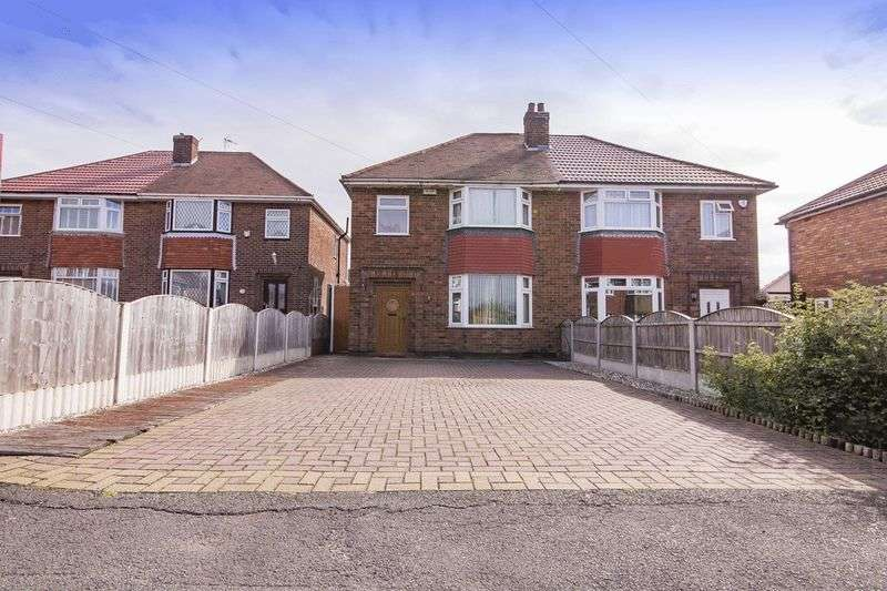3 Bedrooms Semi Detached House for sale in RADCLIFFE DRIVE, DERBY