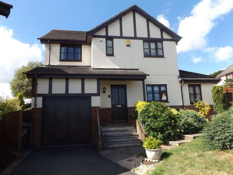 4 Bedrooms Detached House for sale in Shetland Close, The Willows , Torquay