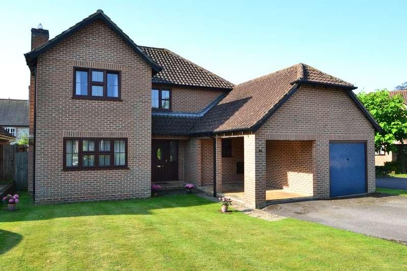 4 Bedrooms Detached House for sale in Winterbourne Dauntsey