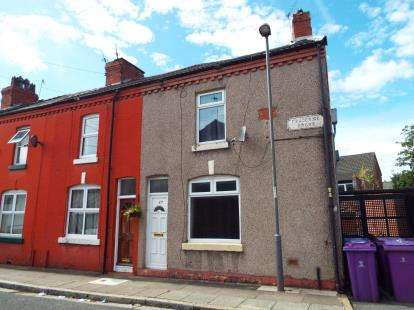 2 Bedrooms End Of Terrace House for sale in Frederick Grove, Liverpool, Merseyside, L15
