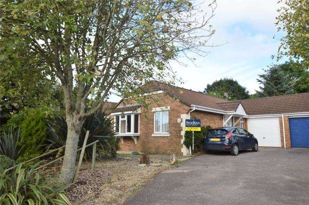 3 Bedrooms Detached Bungalow for sale in Hatcher Close, Honiton, Devon