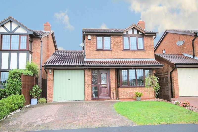 3 Bedrooms Detached House for sale in Houting, Dosthill, Tamworth, B77 1PA