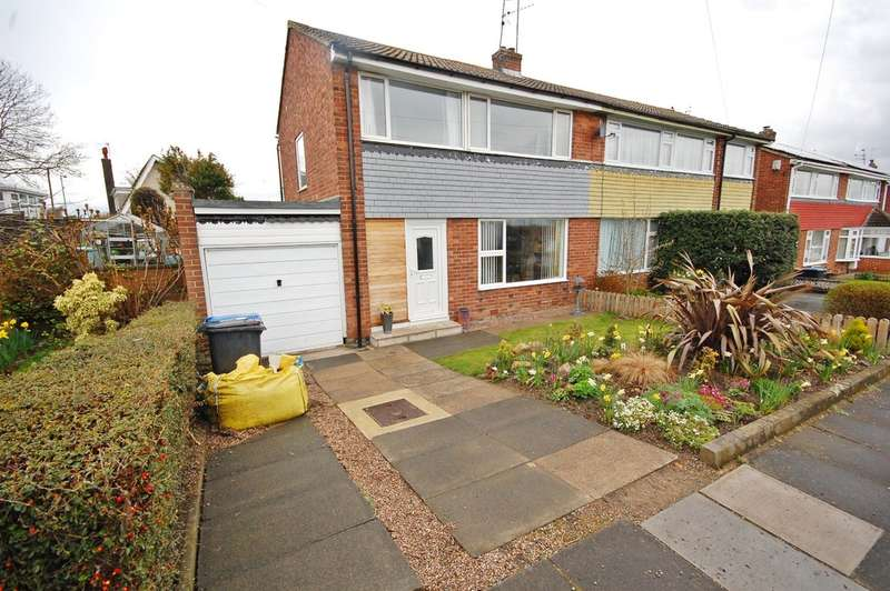3 Bedrooms Semi Detached House for sale in York Crescent, Newton Hall, Durham