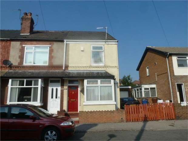 2 Bedrooms End Of Terrace House for sale in Frederick Street, Goldthorpe, Rotherham, South Yorkshire