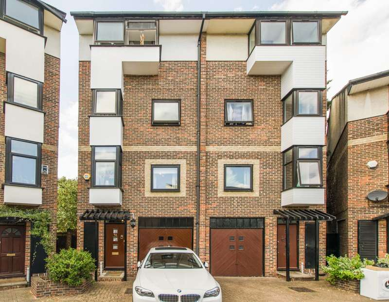 4 Bedrooms House for sale in Barnfield Place, Isle Of Dogs, E14