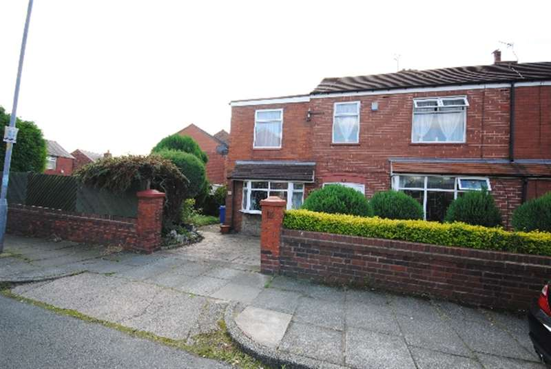 4 Bedrooms Semi Detached House for sale in Emerald Street, Springfield, Wigan, WN6