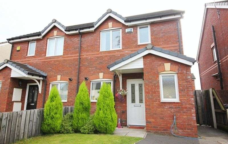 3 Bedrooms Semi Detached House for sale in Lee Park Avenue, Belle Vale, Liverpool, L25