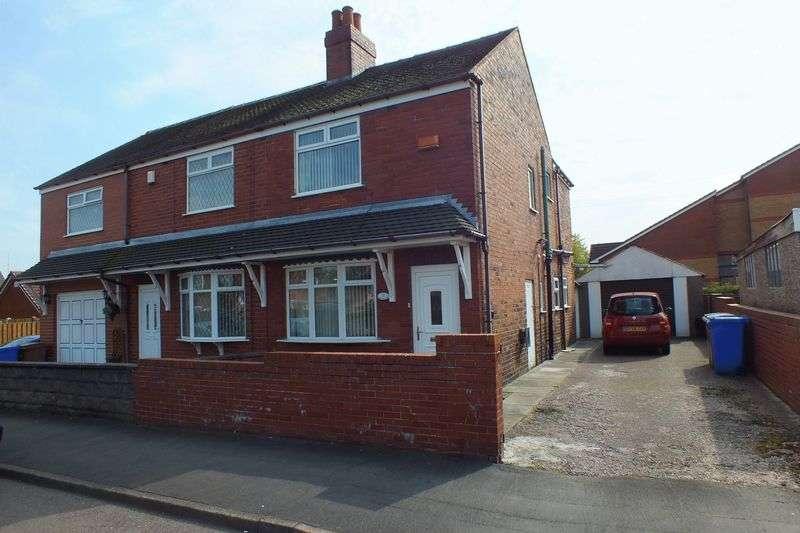 2 Bedrooms Semi Detached House for sale in Brammer Street, Bradeley, Stoke-On-Trent