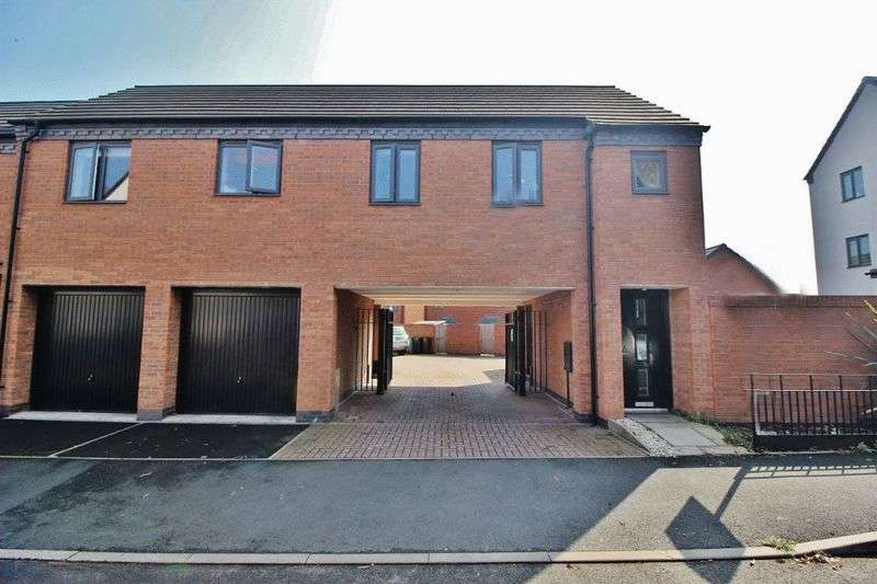 2 Bedrooms Semi Detached House for sale in Europa Gardens, Wolverhampton