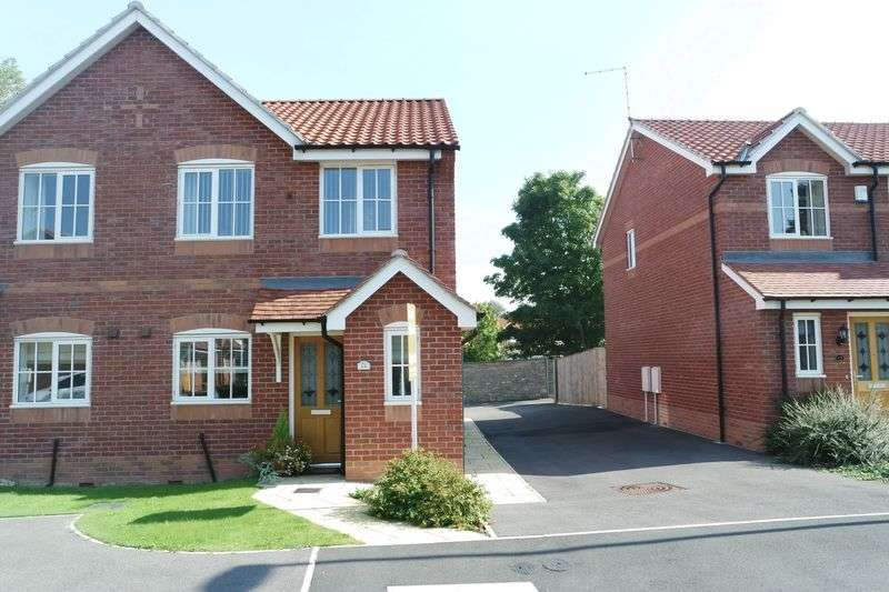 3 Bedrooms Semi Detached House for sale in Digby Court, Mansfield Woodhouse