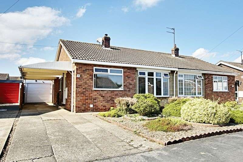 2 Bedrooms Semi Detached Bungalow for sale in Manderville Close, Hedon