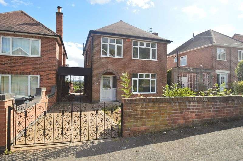 3 Bedrooms Detached House for sale in Greenwood Road, Nottingham