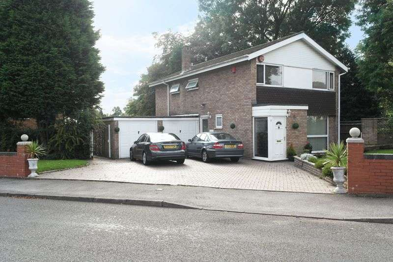 4 Bedrooms Detached House for sale in Mandeville Gardens, Walsall