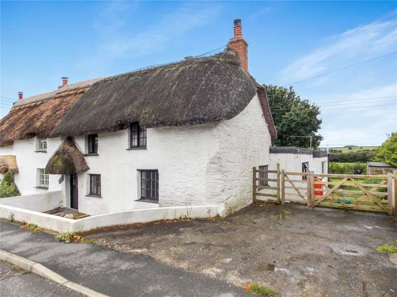 2 Bedrooms Semi Detached House for sale in Sladesmoor Cottages, St. Giles On The Heath, Launceston