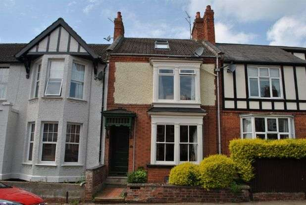 4 Bedrooms Terraced House for sale in Clarence Avenue, Queens Park, Northampton NN2 6NY