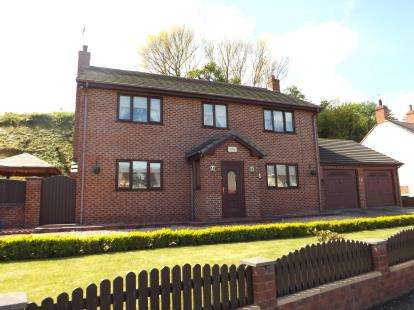 4 Bedrooms Detached House for sale in High Street, Bagillt, Flintshire, CH6