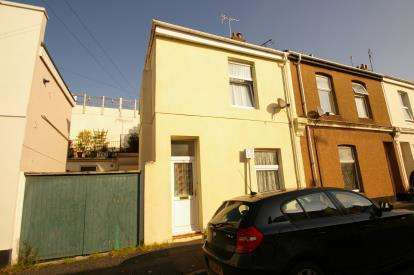 2 Bedrooms End Of Terrace House for sale in Stonehouse, Plymouth, Devon