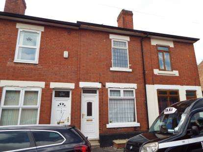 3 Bedrooms Terraced House for sale in Boden Street, Derby, Derbyshire