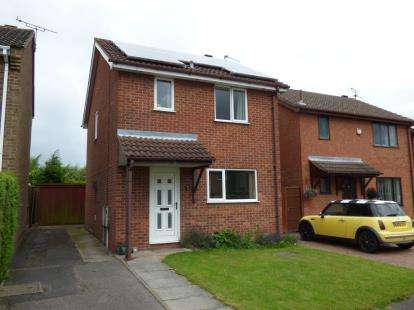 3 Bedrooms Detached House for sale in Outram Way, Stenson Fields, Derby, Derbyshire
