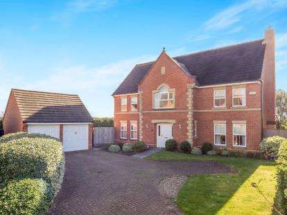 5 Bedrooms Detached House for sale in Pimlico Close, Radcliffe-On-Trent, Nottingham, Nottinghamshire