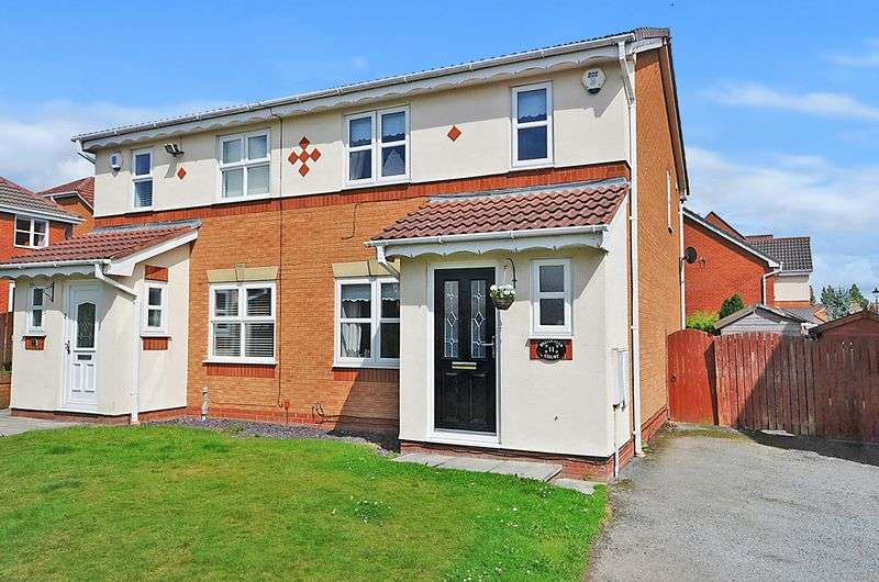 3 Bedrooms Semi Detached House for sale in Belgravia Court, Widnes