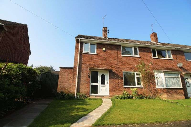 3 Bedrooms Terraced House for sale in Calveley Avenue, Eastham