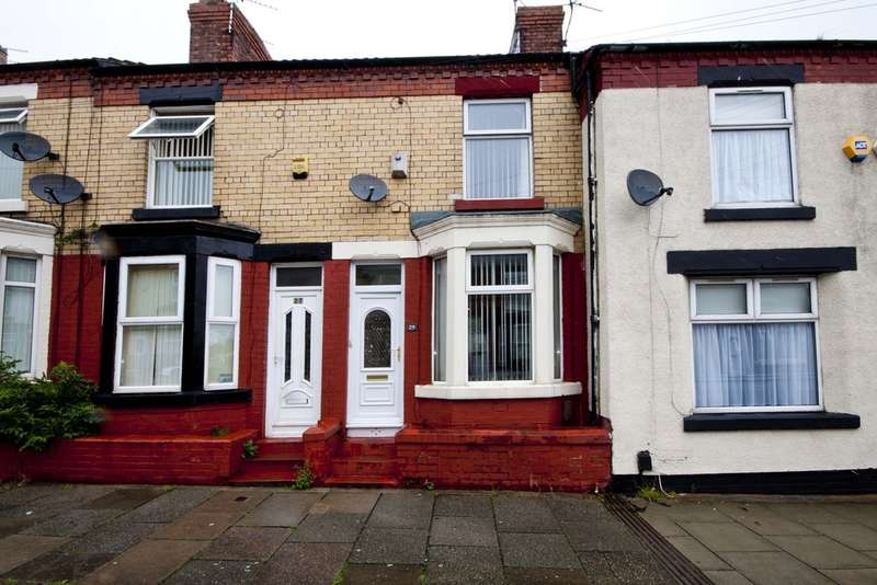 2 Bedrooms Terraced House for sale in Crofton Road, Birkenhead,CH42