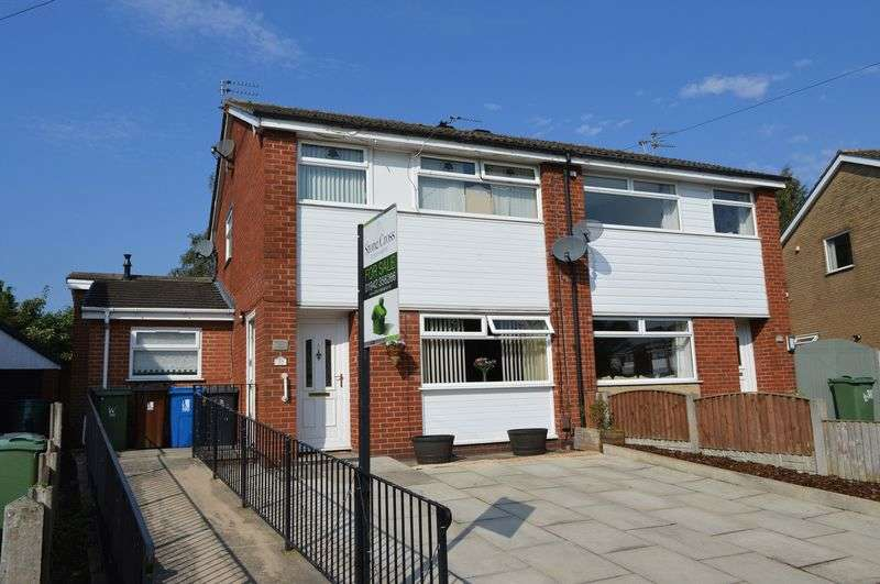 4 Bedrooms Semi Detached House for sale in Radnor Drive, Leigh, WN7 4TB