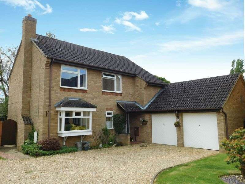 4 Bedrooms Detached House for sale in Grimsthorpe Close, Market Deeping