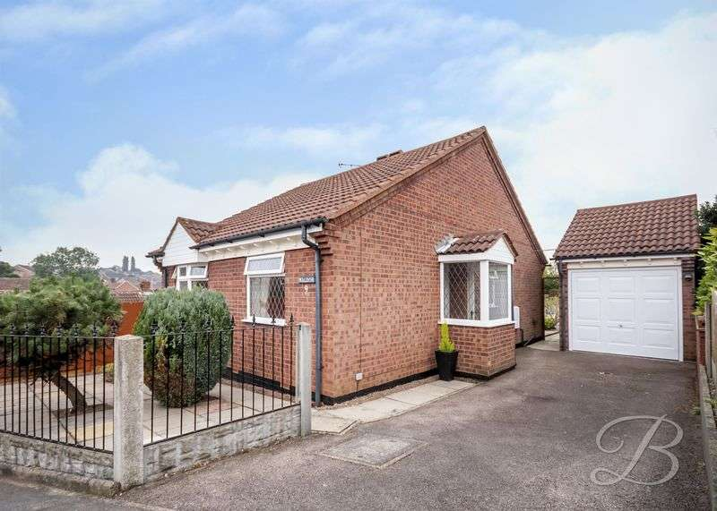 2 Bedrooms Detached Bungalow for sale in The Ridings, Forest Town