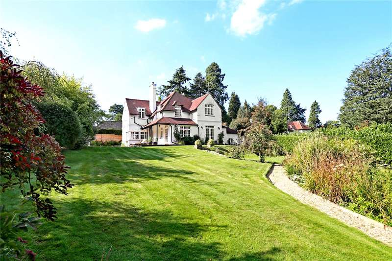 4 Bedrooms Detached House for sale in Churt Road, Churt, Hindhead, Surrey, GU26