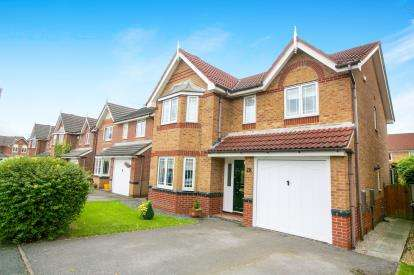 4 Bedrooms Detached House for sale in Hereford Way, Middlewich, Cheshire