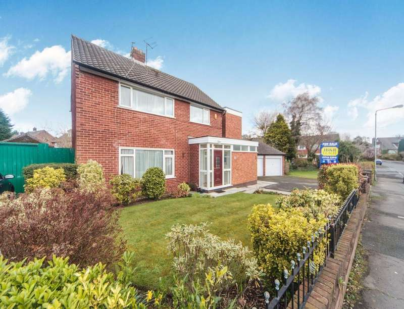 4 Bedrooms Detached House for sale in Fairholme Avenue, Eccleston Park, Prescot, L34