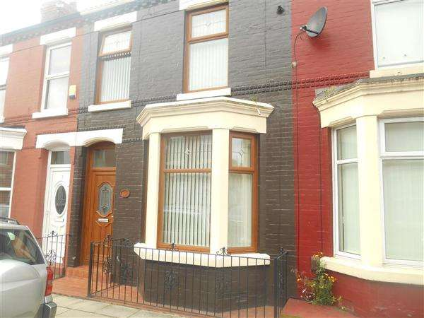 3 Bedrooms Terraced House for sale in Tiverton Street, Liverpool