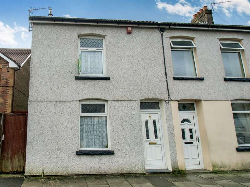 3 Bedrooms End Of Terrace House for sale in Rees Street, Gelli, Pentre