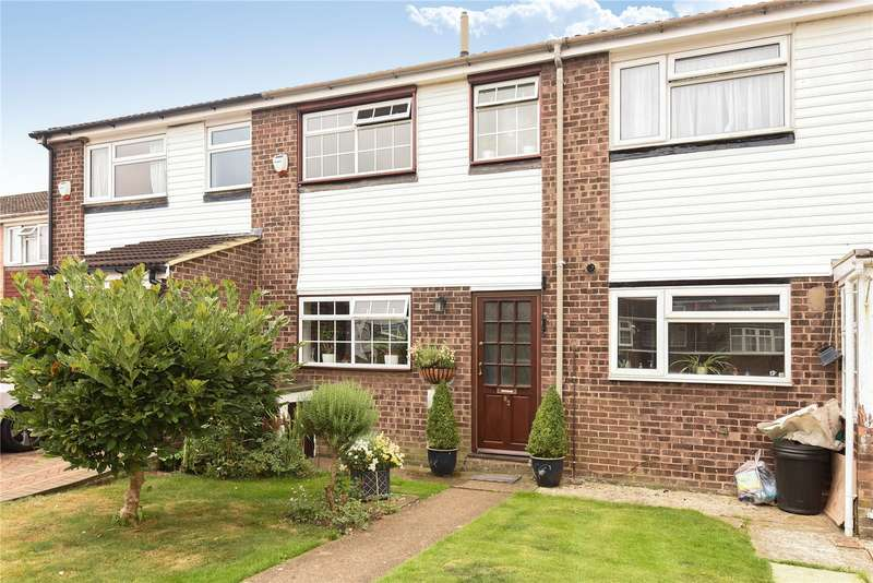 2 Bedrooms Terraced House for sale in Stowe Crescent, Ruislip, Middlesex, HA4