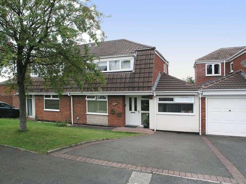 5 Bedrooms Semi Detached House for sale in BRIERLEY HILL, Withymoor Village, Karen Way