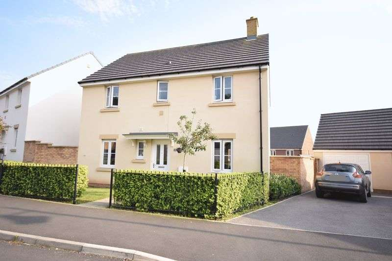 4 Bedrooms Detached House for sale in 25 Maes Y Cadno, Coity, Bridgend CF35 6DF
