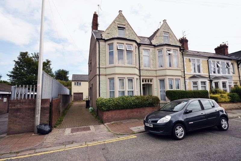 1 Bedroom Flat for sale in Moorland Road, Splott, Cardiff