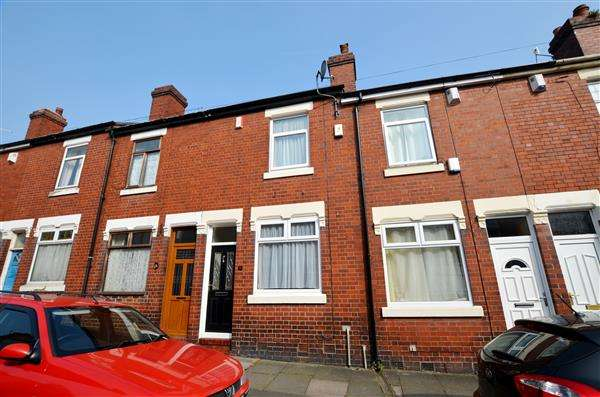 2 Bedrooms Terraced House for sale in Clare Street, Basford, Stoke-On-Trent