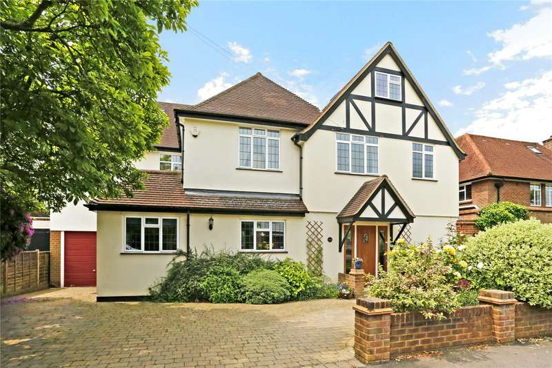 6 Bedrooms Detached House for sale in Cassiobury Drive, Watford, Hertfordshire, WD17