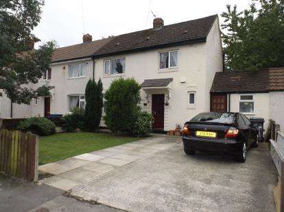 2 Bedrooms Semi Detached House for sale in Briar Road, Golborne, Warrington, Greater Manchester