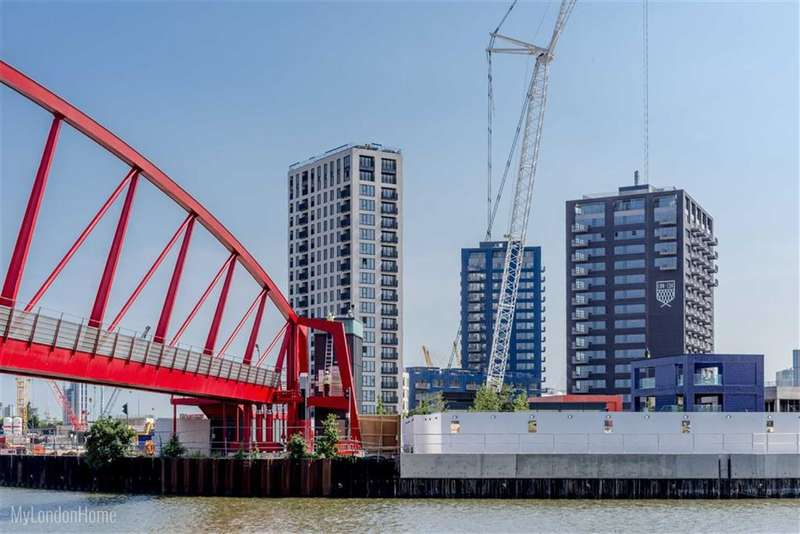 1 Bedroom Property for sale in Dawsonne House, London, London, E14
